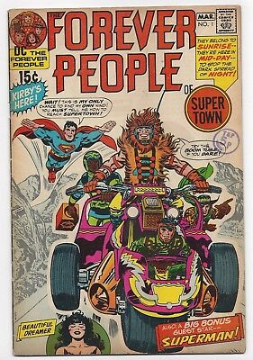 DC COMICS: FOREVER PEOPLE #1 - 1st APP DARKSEID (FULL) - JACK KIRBY (1971)