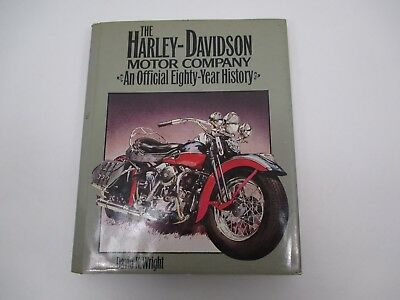 1983 The Harley Davidson Motor Company Official 88 Year History Book Davd Wright