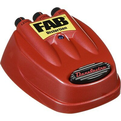 Danelectro D-1 Fab Distortion Pedal, Highly Responsive with Delicious Tone