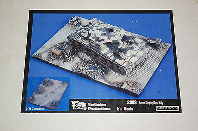 Verlinden Productions 2399 - Armor Display Base scala 1/48