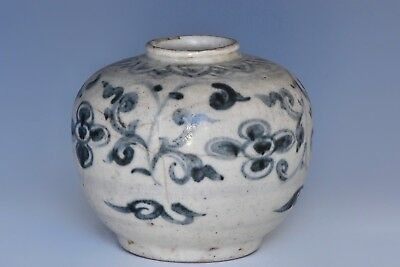 An Early Blue & White Chinese South East Asian Jar