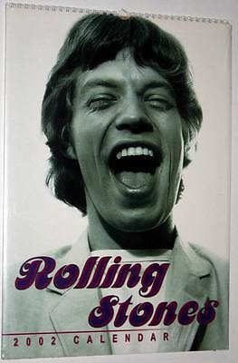Calendrier 2002 Calendar THE ROLLING STONES