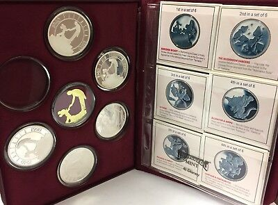 1940-1990 Disney Fantasia 50th Anniv. Limited Collector's Edition .999 Silver