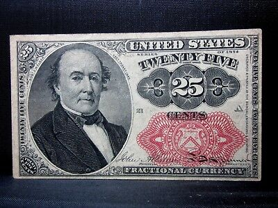 25C Fractional Currency ✪ Vf Very Fine ✪ 5Th Issue L@@k Cent V75 ◢Trusted◣