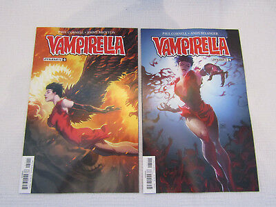 Vampirella issues 6 and 7 - Dynamite new first press