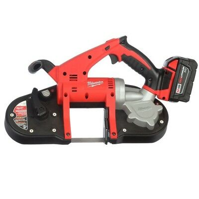 Milwaukee M18-Volt Lithium-Ion Cordless Band Saw Kit Construction Power Tool NEW