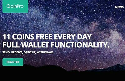 Qoinpro - free bitcoins daily - register and collect bitcoin litecoin dogecoin