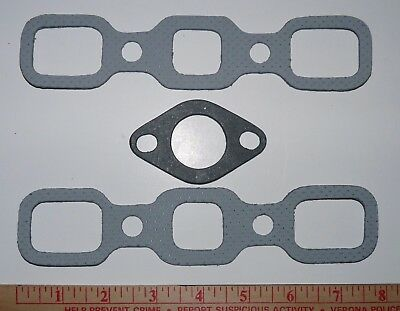 NEW Intake Exhaust Manifold Gasket Set Kit For Ford 9N 8N 2N Gas Tractor