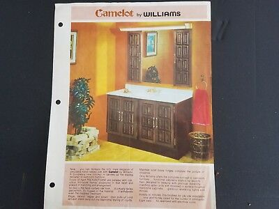 Vintage Camelot Williams Cabinet Doors Bathroom Vanity Custom Unrestored See Des