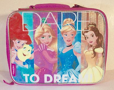 Disney Princess Dare To Dream Soft Insulated Lunchbox Lunchbag