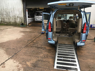 Fresh Import Nissan Sarena Disable Mobilty Access Wheel Chair Ramp 7Seats Mpv