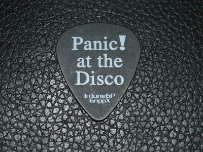 *authentic Panic At The Disco Tour Guitar Pick*