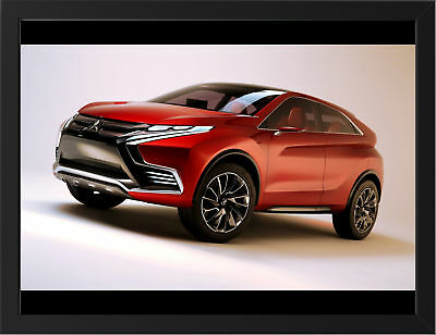 """MITSUBISHI CONCEPT XR PHEV A3 FRAMED PHOTOGRAPHIC PRINT 15.7""""x11.8"""""""