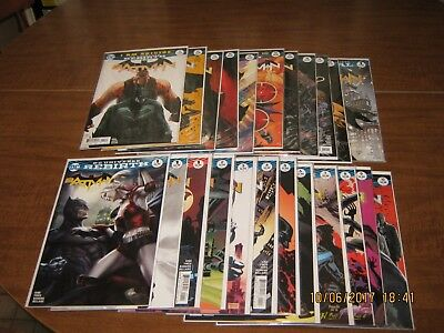 DC Batman Rebirth #1-20 lot All NM Plus Annual #1 Some Variants Covers