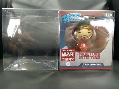 3 Funko Dorbz Vinyl Box Protector Acid Free 0.35 mm Thickness with Film