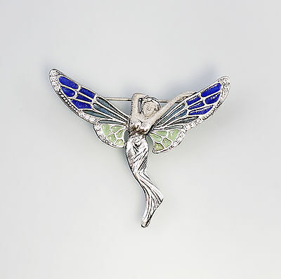 enamelled Brooch Fairy 9901280