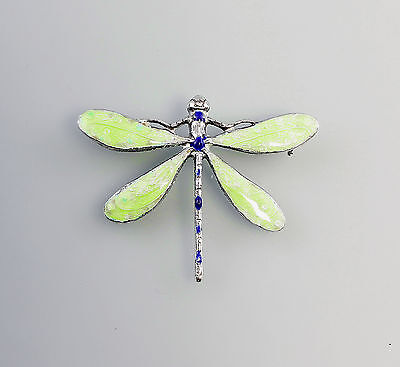 enamelled Brooch Dragonfly 9901293