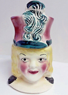 1950s Cookie Jar MAJORETTE by American Bisque Co  USA Mid Century