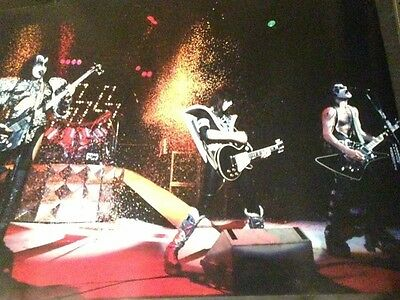 Kiss 20x30 Promotional Photo Paper Poster Backstage Auctions