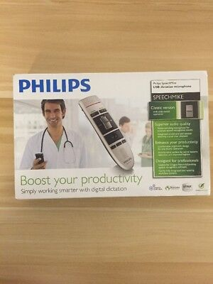 Philips LFH3210 SpeechMike III Classic (Slide Switch Operation) USB...