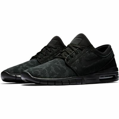 Nike SB Shoes Janoski Max Black Black Anthracite Skate Sneakers FREE POST