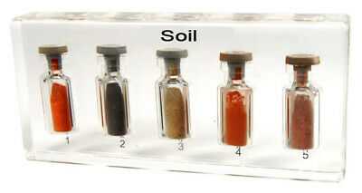 Soil embedded specimens samples Resin Soil specimens Embedding Specimen