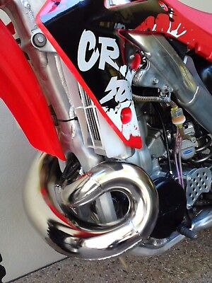 Honda Cr 500 Motor In 2011 Crf 250 Frame In Nice Condition Yz Rm Kx