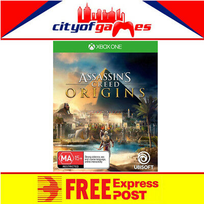 Assassins Creed Origins Xbox One Game New & Sealed Free Express Post Pre Order