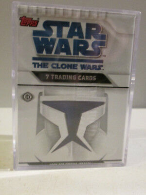 Topps Star Wars The Clone Wars 2008 Trading Cards Set Sealed