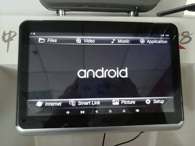 4K Resolution Android 6 and DVD headrest Player+your Car Logo....hot 2018 Sale
