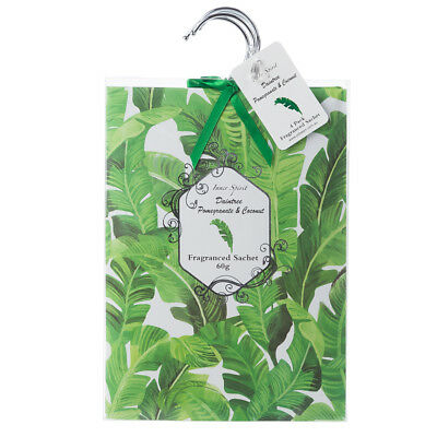 NEW Pilbeam Pomegranate & Coconut Scented Wardrobe Sachet Set