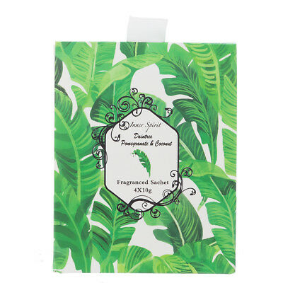 NEW Pilbeam Pomegranate & Coconut Mini Scented Sachet Set 4pce