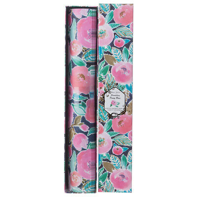 NEW Pilbeam Peony Rose Scented Drawer Liner Set 6pce
