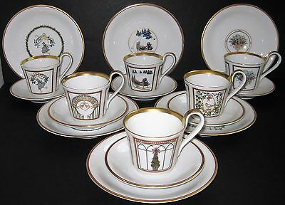 Bing & Grondahl B&G Christmas Holiday Service for 6 Cup Saucer Plate (12 Avail.)