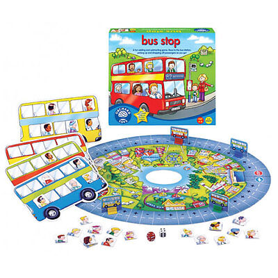 Orchard Toys - Bus Stop - Add & Subtract Game (4-8 yrs)