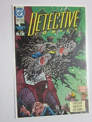 Detective Comics (1937 1st Series) #654 - 8.0 VF - 1992