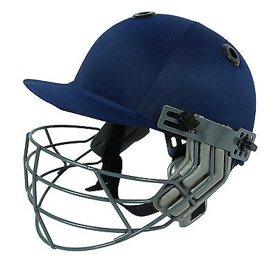 Navy Blue Cricket Adjustable Helmet Head Protection Equipments-Size Available