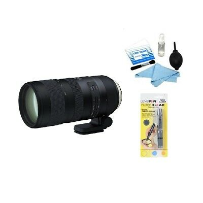 Tamron SP 70-200mm f/2.8 Di VC USD G2 Lens for Nikon (AFA025N) + Cleaning Kit