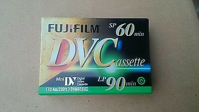 Brand New Unopened Fujifilm Mini Digital Dvc Cassette Blank Video Camera Tape