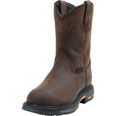 Ariat Mens Workhog Waterproof  Composite Toe Safety Work Western Boots 10001200