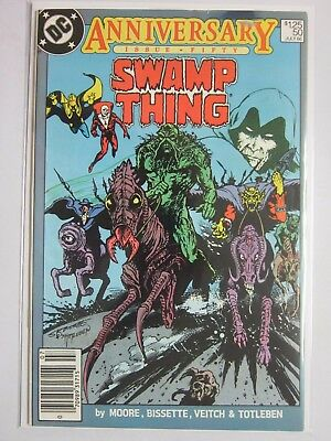 Swamp Thing (1982 2nd Series) #50 - 5.0 - 1986 - NS