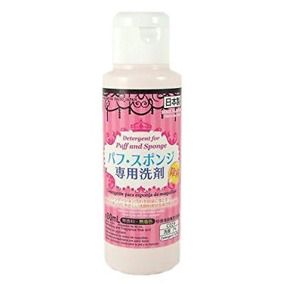 Daiso Detergent Cleaning Cleaners for Markup Puff and Sponge 80ml x 3