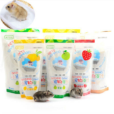 500G Bathroom Type Hamster Pet Dedicated Sterilizing Bath Sand 4 kinds NEW