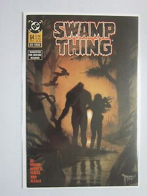 Swamp Thing (1982 2nd Series) #64 - 8.0 VF - 1987