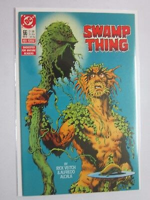 Swamp Thing (1982 2nd Series) #66 - VF - 1987