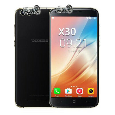 "5.5"" DOOGEE X30 3G Smartphone Android 7.0 Quad Core 2GB+16GB Dual SIM Cellulare"