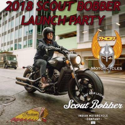 Indian BOBBER 2018 .LAUNCH AT THOR ON SAT 14 OCT 12PM