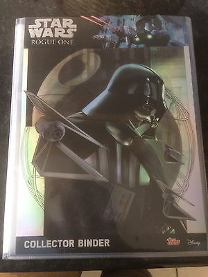 TOPPS Star Wars: Rogue One COMPLETE SET 212 Cards with Binder + all 5 LTD Cards