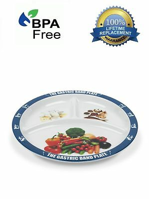 World Slimming Gastric Band Plate Portion Control Weight Loss Diet Plate Watcher