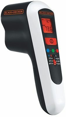 Black + Decker Thermal Leak Detector Hot And Cold Draughts Wet Measuring Device